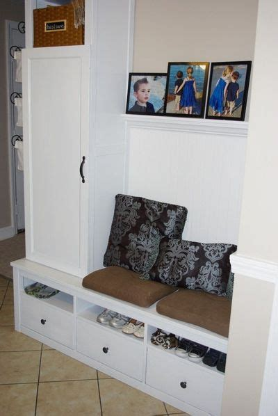 ikea entry bench ikea hack entry bench and storage interior house ideas