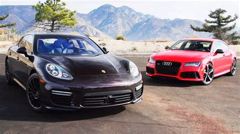 Audi Vs Porsche by 2014 Audi Rs7 Vs 2014 Porsche Panamera Turbo Urbasm