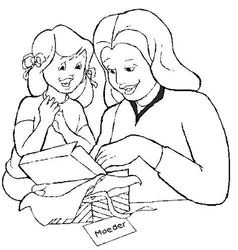 imagenes a lapiz para una madre moederdag kleurplaten kado