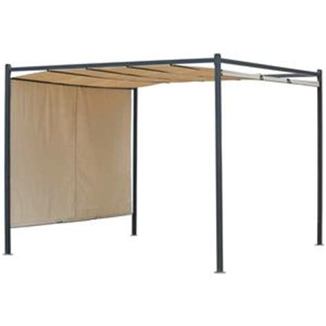 tettoia scorrevole pergola 3x3 gazebo con tetto scorrevole design ideale per