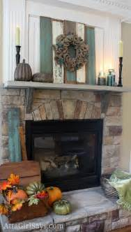 Blue Mantle Fireplaces by Best 25 Fall Fireplace Mantel Ideas On Fall