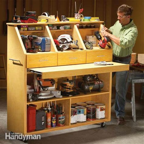 Family Charging Station Ideas by 14 Power Tool Storage Ideas So You Never Lose Them Again