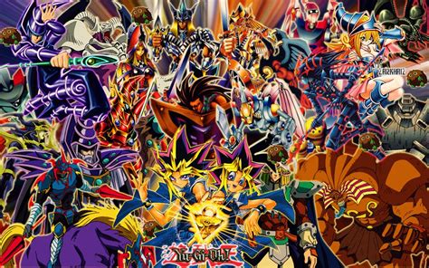 yugioh wallpapers for iphone 5 yugi and his monsters by zarkhaiz on deviantart