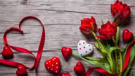 wallpaper valentines day love image heart flowers