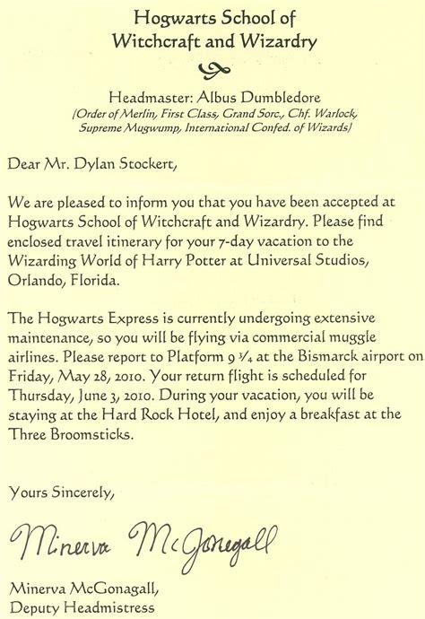 Hogwarts Acceptance Letter Uk Hogwarts Acceptance Letter Template