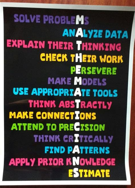 themes secondary education 25 best ideas about math classroom decorations on