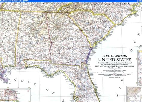 road map of southeastern usa southeastern united states road map southeast highway map