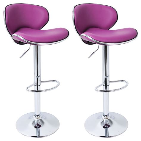 Swivel Breakfast Bar Stools 2 X Bar Stools Faux Leather Swivel Breakfast Kitchen Stool