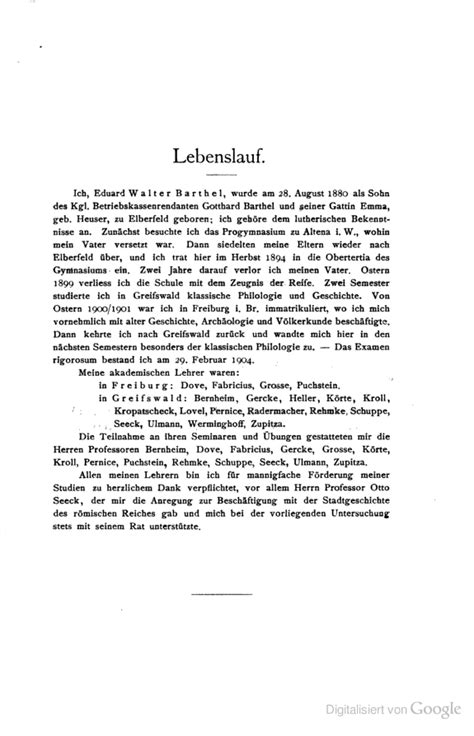 Meaning Of Lebenslauf File Lebenslauf Walther Barthel Png Wikimedia Commons