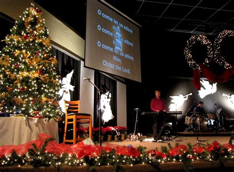 christmas church decor christmas in the church pinterest