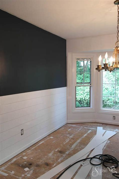 shiplap designs diy shiplap inspired wall tutorial an easy and