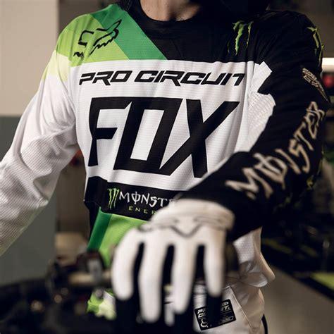 motocross energy gear fox racing 2018 mx le 360 energy pro circuit