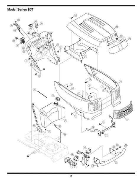 mtd mower parts mtd 800 series automatic garden tractor lawn mower parts list