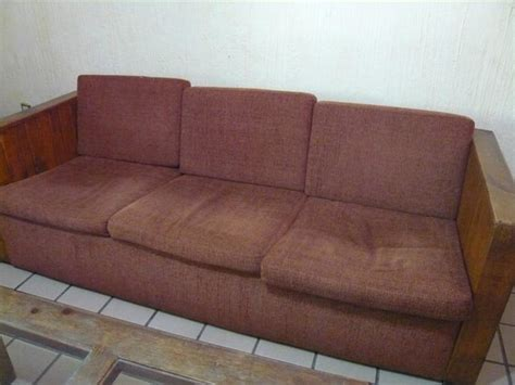 dirty couch dirty old and uncomfortable sofa to relax on in the