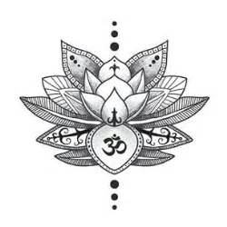 Lotus Flower And Om Therapy 171 Cross Fit Nucleus