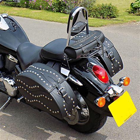 Ebay Motorcycles Kawasaki by Motorcycle Leather Saddlebags Panniers Kawasaki Vulcan