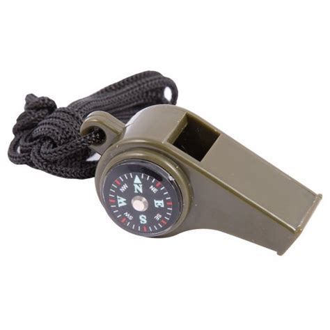 Peluit Multifungsi Whistle Compass Temperature 3 In 1 Survival Whistle With Compass Temperature