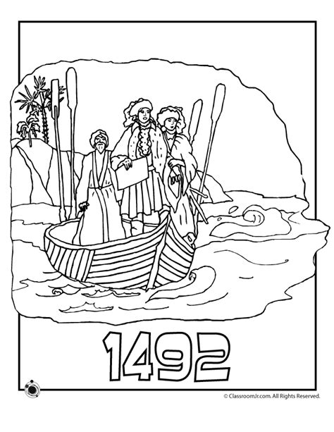 printable coloring pages for columbus day columbus day printables coloring home