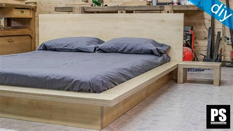 Ikea Hack Bed by How To Make A Plywood Tatami Bed Youtube