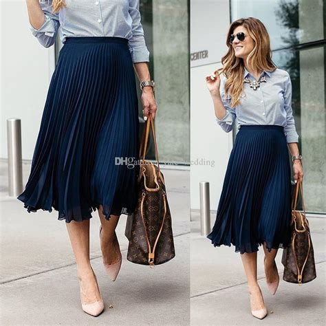best chiffon pleated maxi skirt photos 2017 blue maize navy blue pleated chiffon midi skirts for fashionable style skirts for s