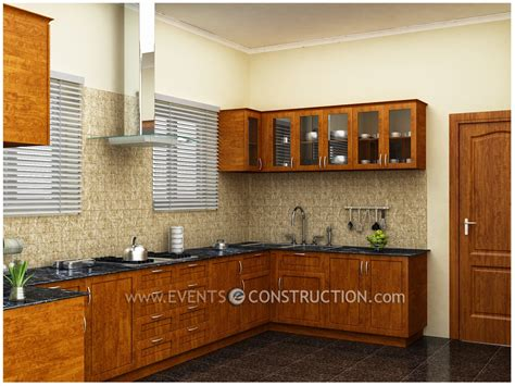 kitchen design in kerala evens construction pvt ltd simple kerala kitchen design