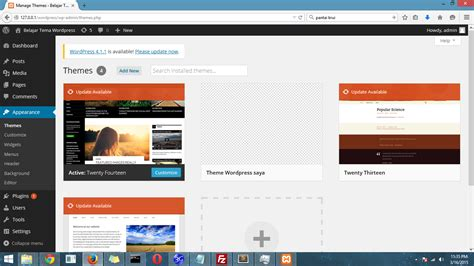 membuat theme wordpress offline tutorial membuat theme wordpress sendiri programmer goblog