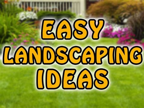 Backyard Kitchen Ideas by Easy Front Yard Landscaping Ideas And Backyard Landscaping