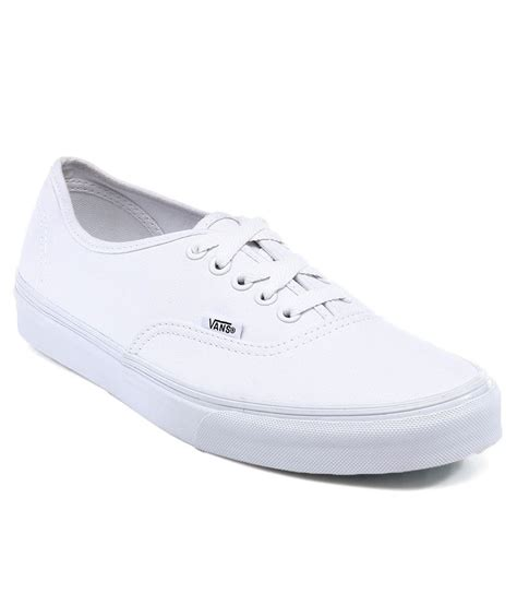 vans authentic white casual shoes price in india buy vans