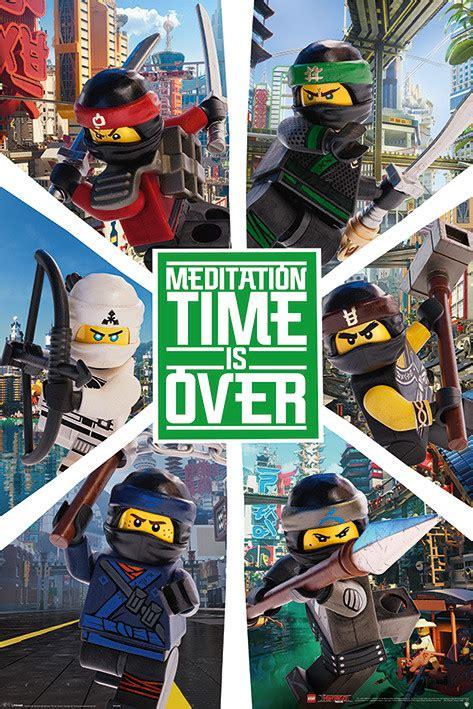 Plakat Lego by Lego Ninjago Six Ninjas Plak 225 T Obraz Na Zeď