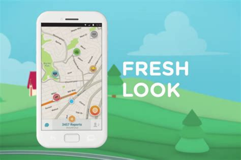waze android waze update adds cleaner interface and a grab bag of new features greenbot