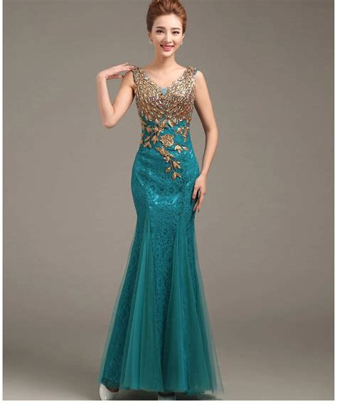desain gaun formal aliexpress com beli 2015 gaun malam desain baru