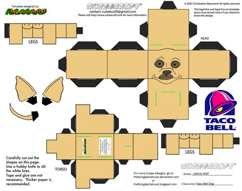 adv ch19 taco bell dog cubee by theflyingdachshund on