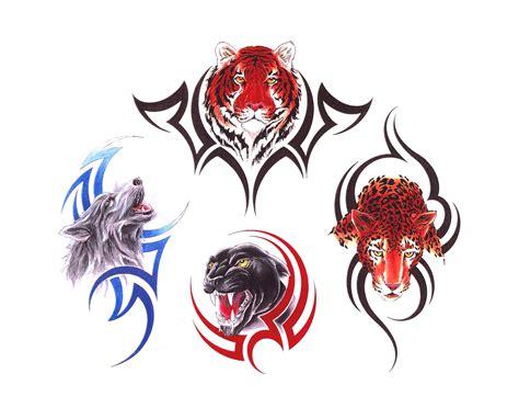 tattoo animal set animals tattoo set1 img19 jpg 171 animals 171 classic tattoo