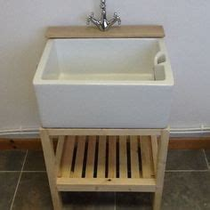 Stand Alone Bathroom Sinks by Traditional Wooden Stand For Belfast Butler Sink With Tap Ledge Only 163 129 99 Ebay