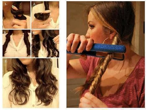 sectioning hair for curling back to school hairstyles