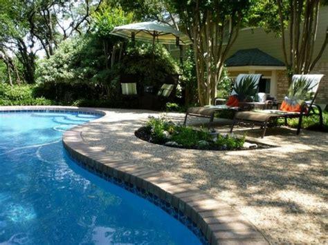 relaxing backyard swimming pool designs
