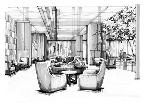 Sketches Renderings And Models Are Primarily by I Rendering Architectural Rendering Perspective Design