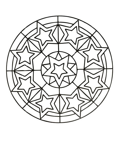 simple mandala coloring pages pdf simple mandala 78 mandalas coloring pages for kids to