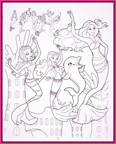 dibujos para colorear de barbie sirena y su delf n dibujos para colorear de barbie sirena y sus aventuras