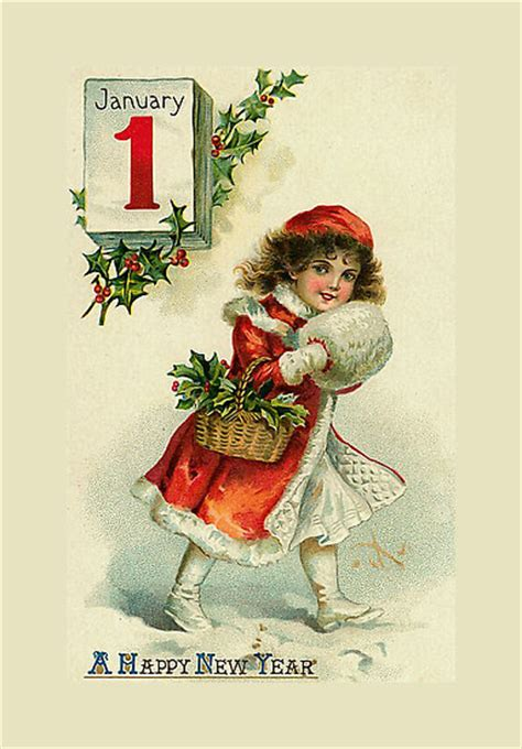 new year vintage greeting cards vintage new year cards orkut scraps greetings graphics