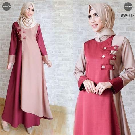 Tantri Dress Tz Gamis Dress Baju Wanita Muslim Ramadhan Tz baju gambaju gamis simple untuk lebaranis simple untuk lebaran gamis dan 50th