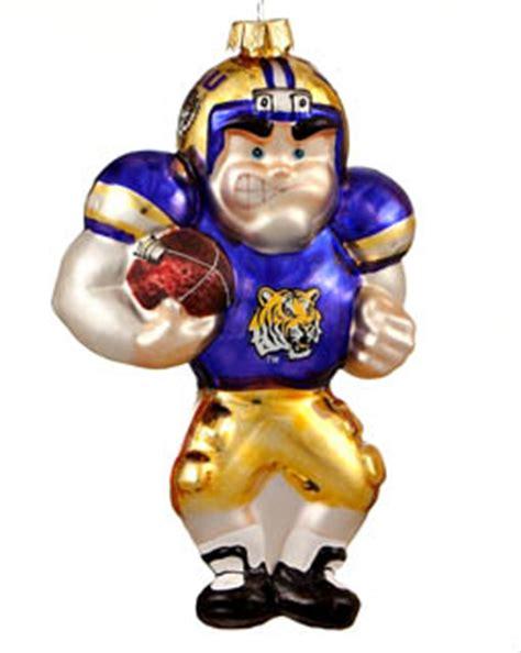 lsu football player christmas ornament college football