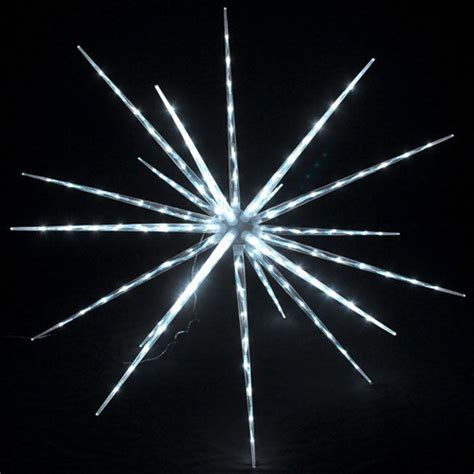 battery operated led star lights christmas lighted decorations battery operated 24 quot led