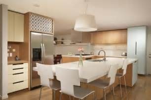 designing a kitchen island with seating how to choose seating for your kitchen island freshome com