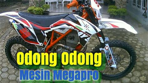 Mesin Megapro rangka traill mesin megapro 2003 megapro modif traill