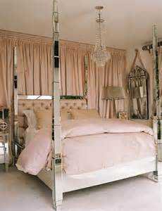 Mirrored bed contemporary bedroom