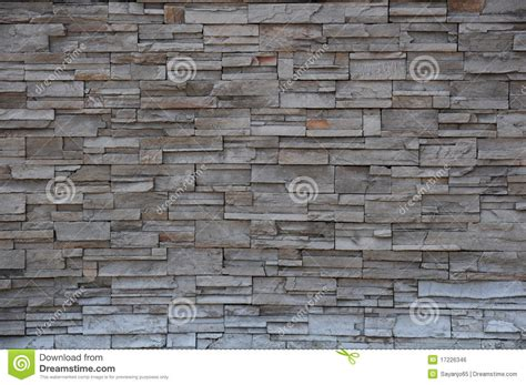 modern brick wall stone brick wall modern brick stone wall royalty free