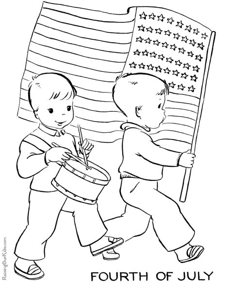 july 4th coloring pages free printable printable 4th of july coloring pages 001