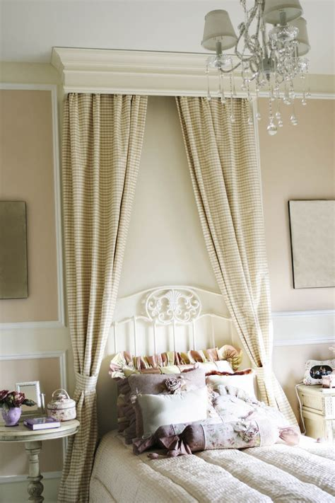 canopy window curtains canopy drapes to enhance an antique iron bed interior