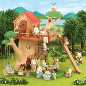 Treehouse Adventure Books - calico critters adventure tree house playset educational toys planet